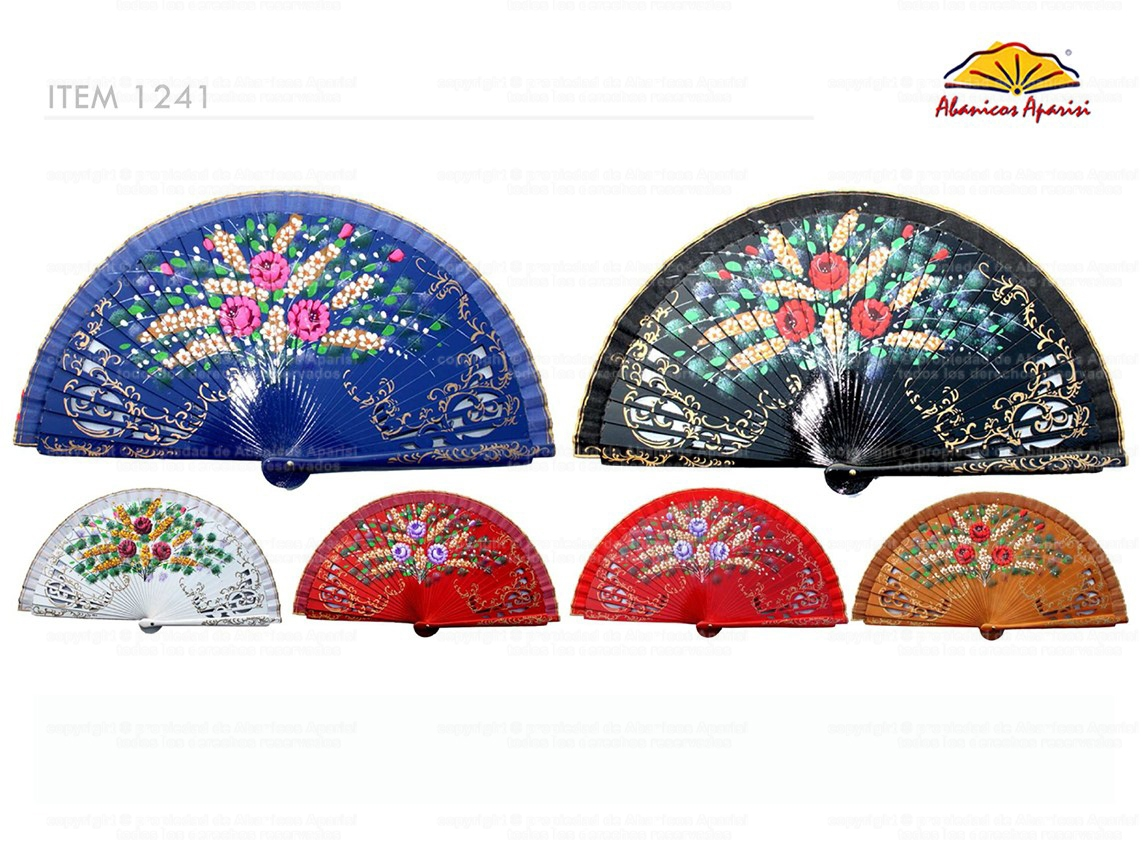 1241 – Assorted luxury hand-painted 2-sided