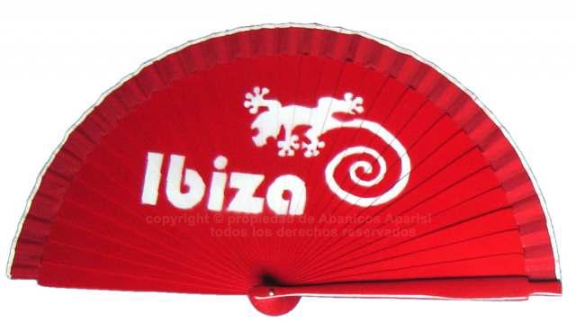 207/IBIZA - Abanico madera Ibiza