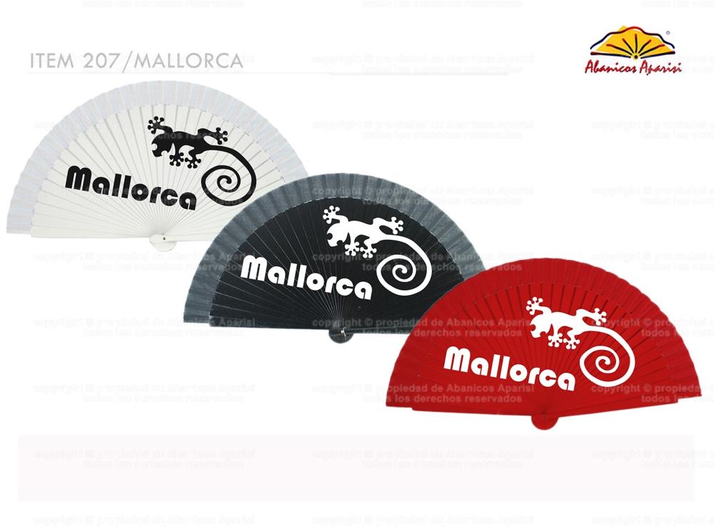 207/MALLORCA – Mallorca wooden fan