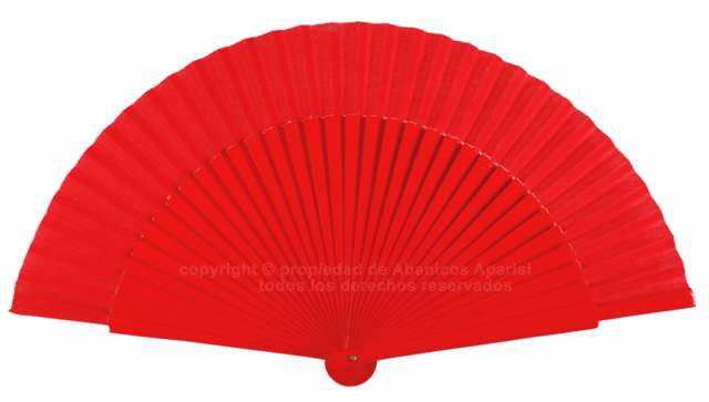 6014 – assorted fans with plain colors