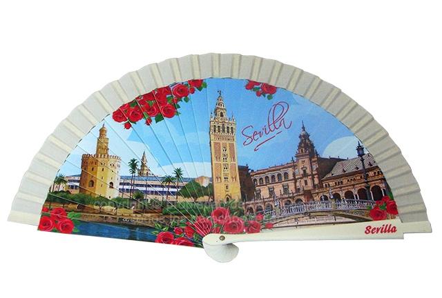 70201 – Acrylic fan Sevilla