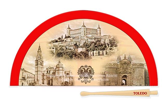 70202 – Acrylic fan Toledo day