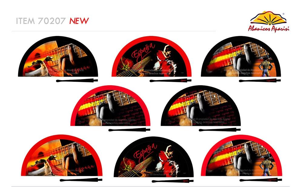 70207 – Acrylic fan Spain flamenco