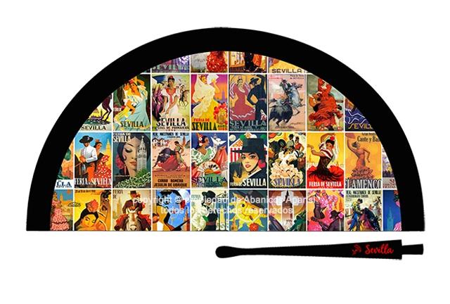 70210 – Acrylic fan Sevilla posters