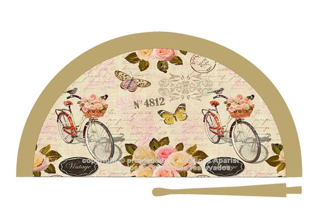70217 – Acrylic fan bicycle