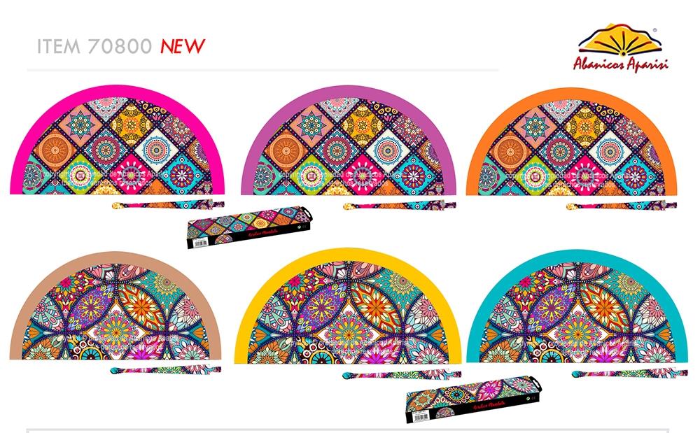 70800 – Acrylic fan mandalas
