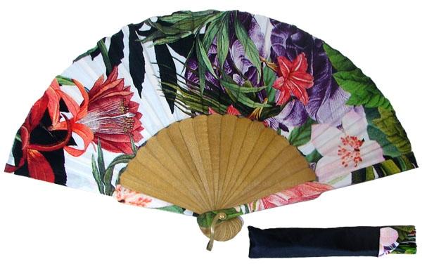 8020 – Handcrafted Wooden Fan