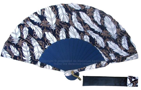 8023 – Handcrafted Wooden Fan