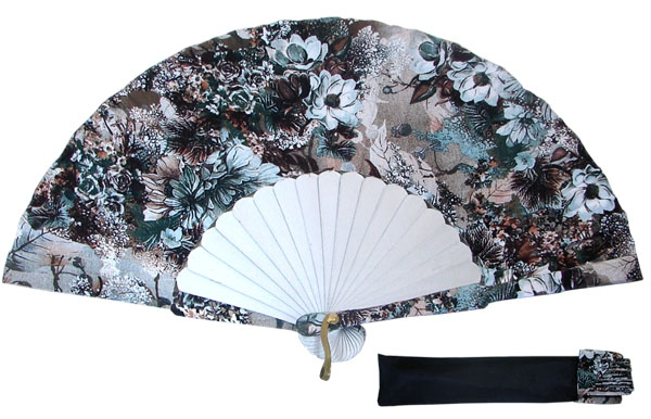 8034- Handcrafted Wooden Fan