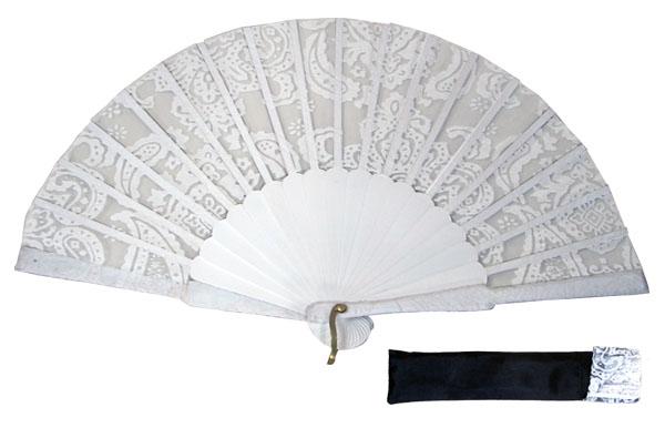 8042- Handcrafted Wooden Fan
