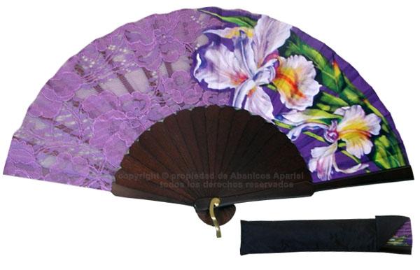 8046- Handcrafted Wooden Fan