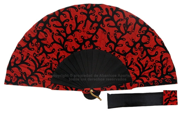 8049- Handcrafted Wooden Fan