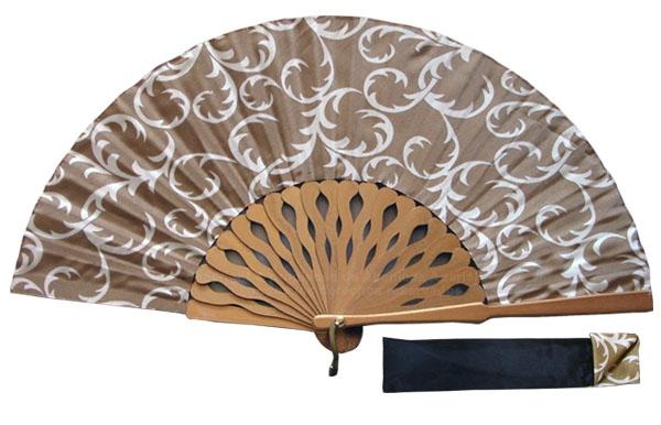 8051- Handcrafted Wooden Fan