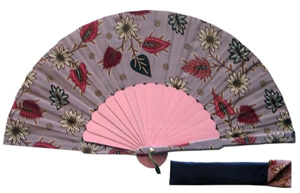 8053- Handcrafted Wooden Fan