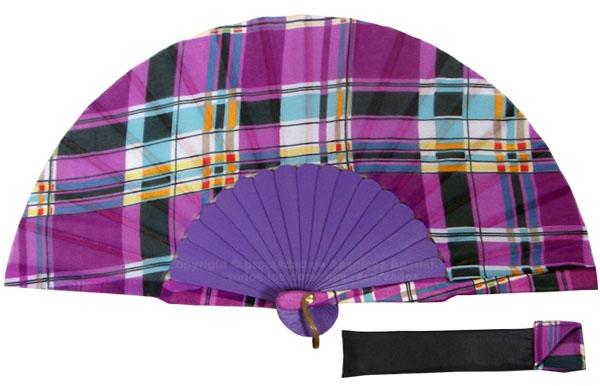 8056 – Handcrafted Wooden Fan
