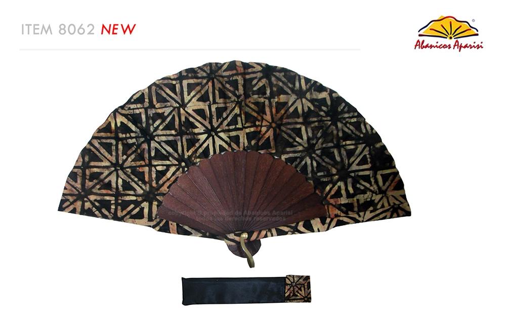 8062 – Handcrafted Wooden Fan