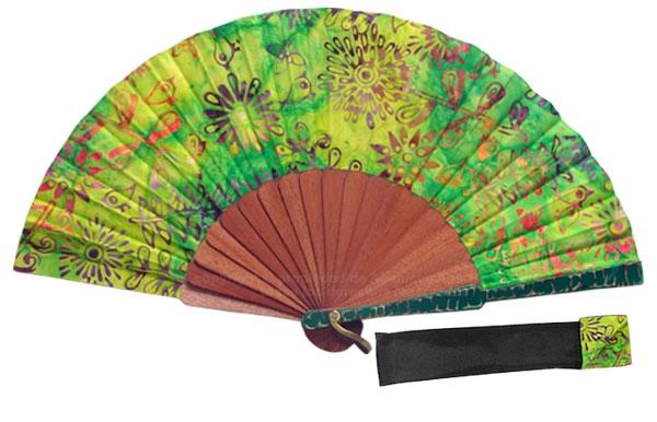 8068 – Handcrafted Wooden Fan