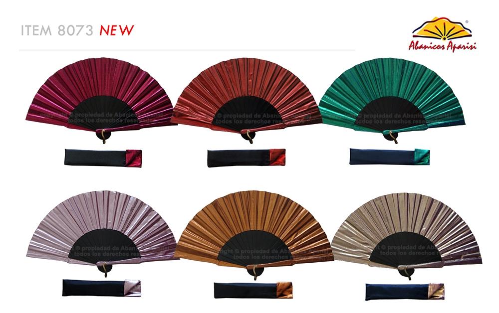 8073 – Handcrafted Wooden Fan