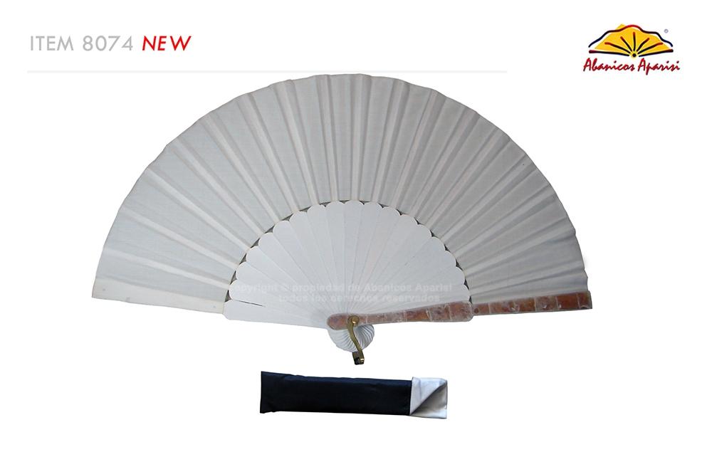 8074 – Handcrafted Wooden Fan