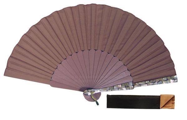 8077 – Handcrafted Wooden Fan