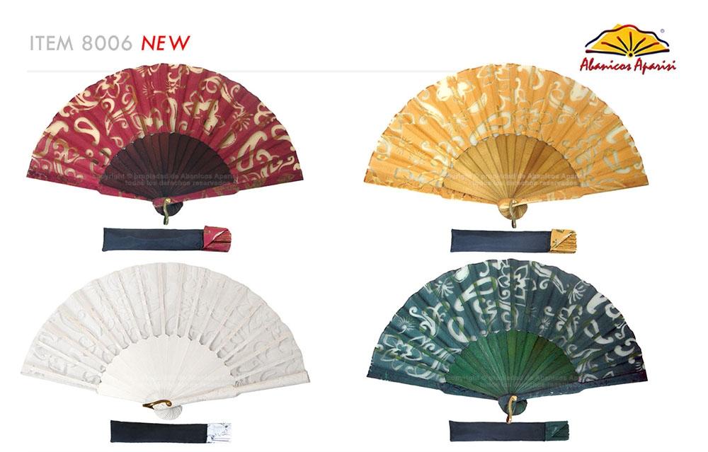 8006 – Handcrafted Wooden Fan