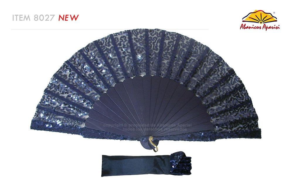 8027- Handcrafted Wooden Fan