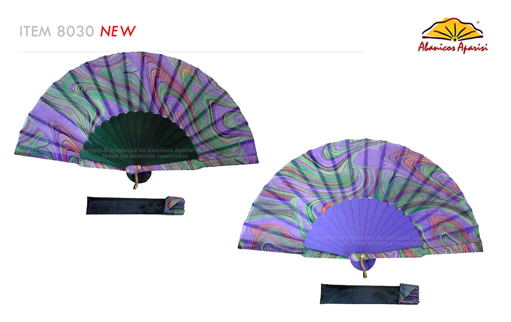 8030- Handcrafted Wooden Fan