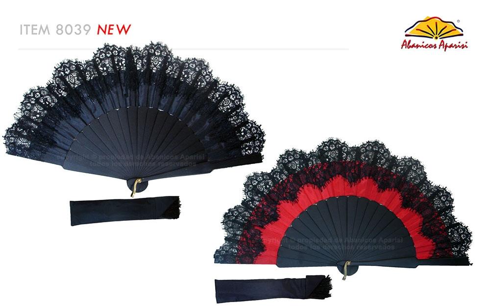8039- Handcrafted Wooden Fan