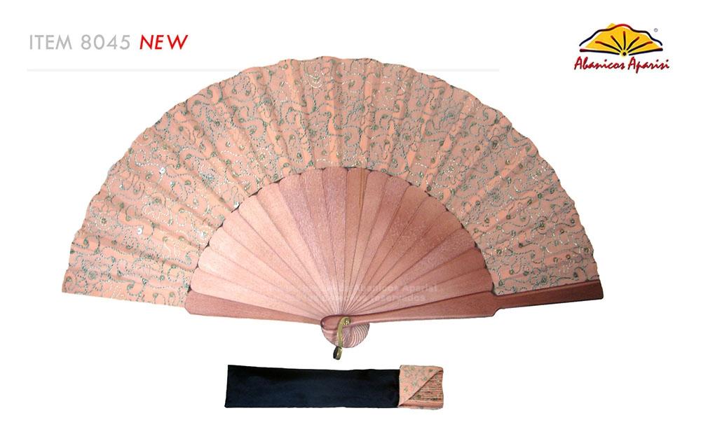8045- Handcrafted Wooden Fan
