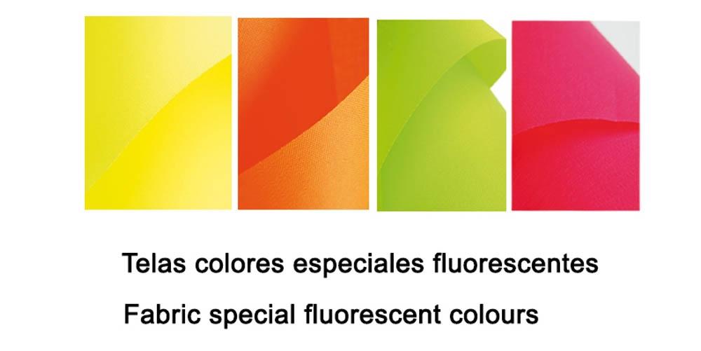 Fluorescent fabrics