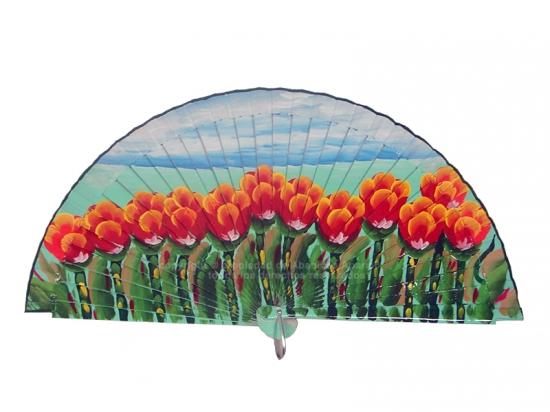 4211/SU – Wook Fan Tulip Field 1 side