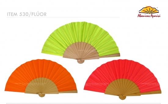 530/Fluor – Wood fan fluorescent color