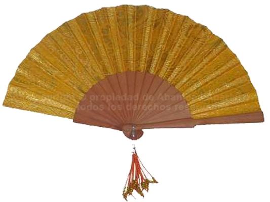 536 – Pear Wood Fan Flower Embroidery