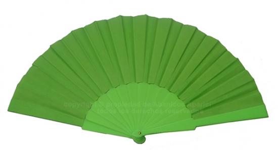 616/Flúor - Abanico Plástico Flúor