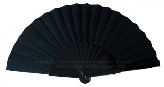 623/1 – Large wooden fan black color