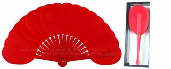 6305/11 – Shaped wooden handbag fan in individual box