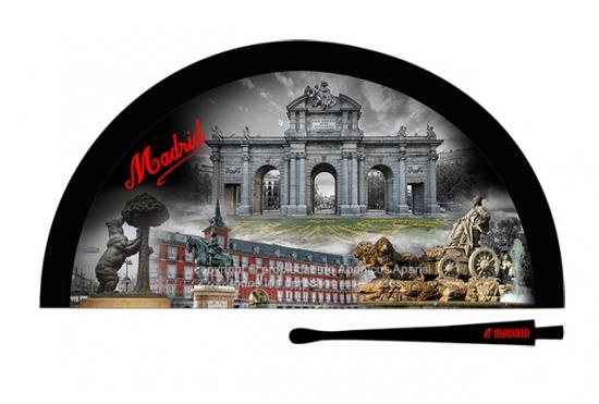70205 – Acrylic fan Madrid night