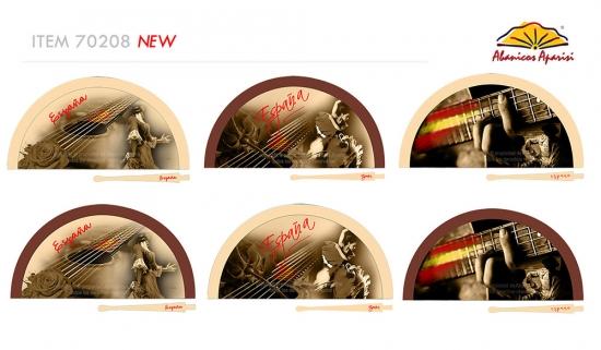70208 – Acrylic fan Spain flamenco day