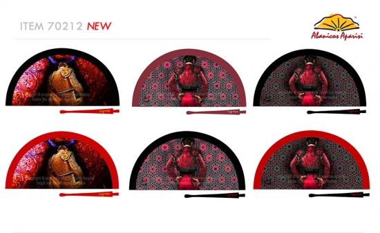 70212 – Acrylic fan Spain bullfighter