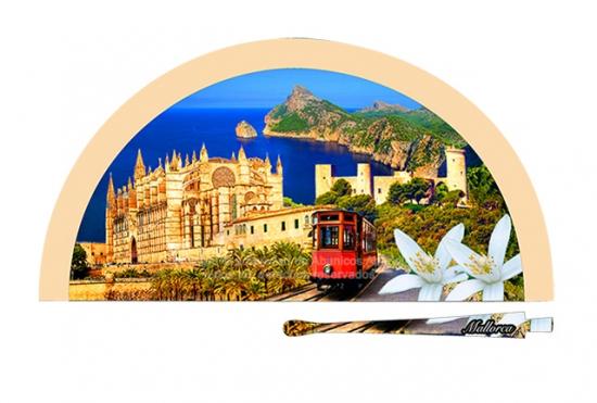 70230 – Acrylic fan Mallorca train