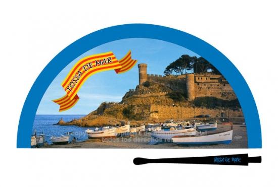 70232 – Acrylic fan Tossa de Mar
