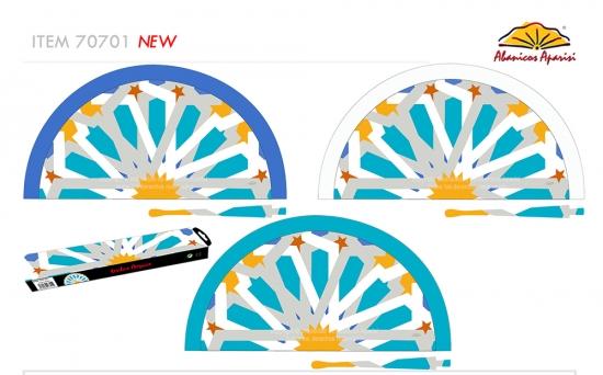 70701 – Acrylic fan mosaic