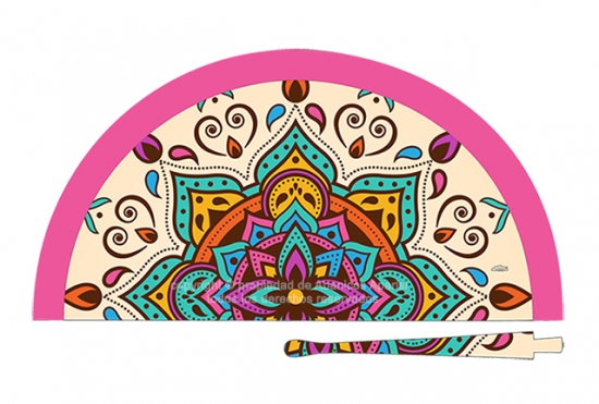 70801 – Acrylic fan mandalas