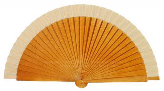 80 – Wooden fans in a selection of colours