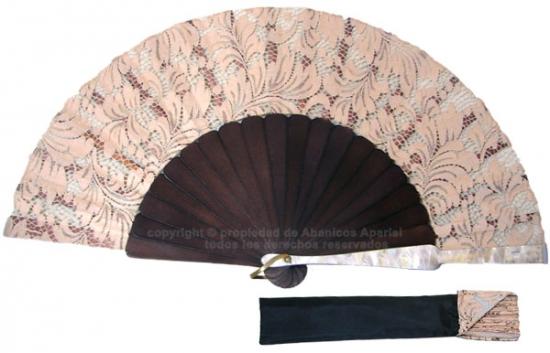 8001 – Handcrafted Wooden Fan