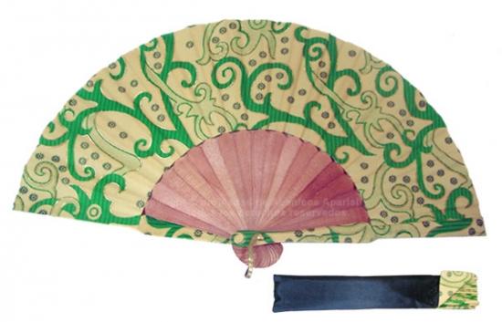 8003 – Handcrafted Wooden Fan