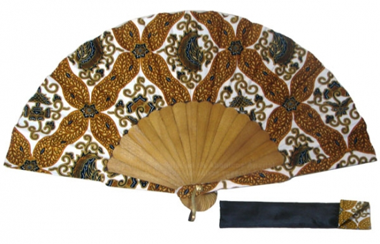 8015 – Handcrafted Wooden Fan