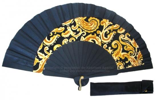 8016 – Handcrafted Wooden Fan