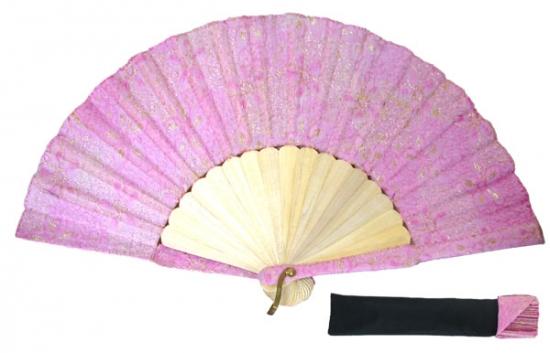 8021 – Handcrafted Wooden Fan