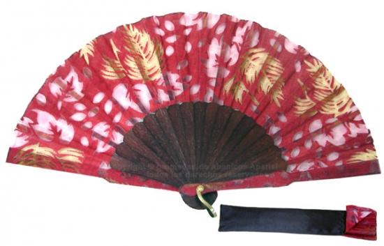 8022 – Handcrafted Wooden Fan
